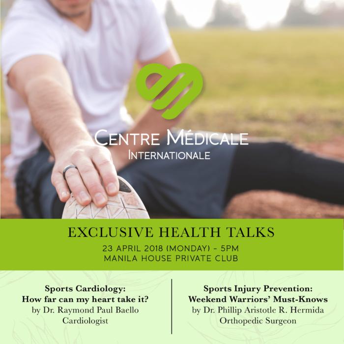 EXCLUSIVE HEALTH TALKS