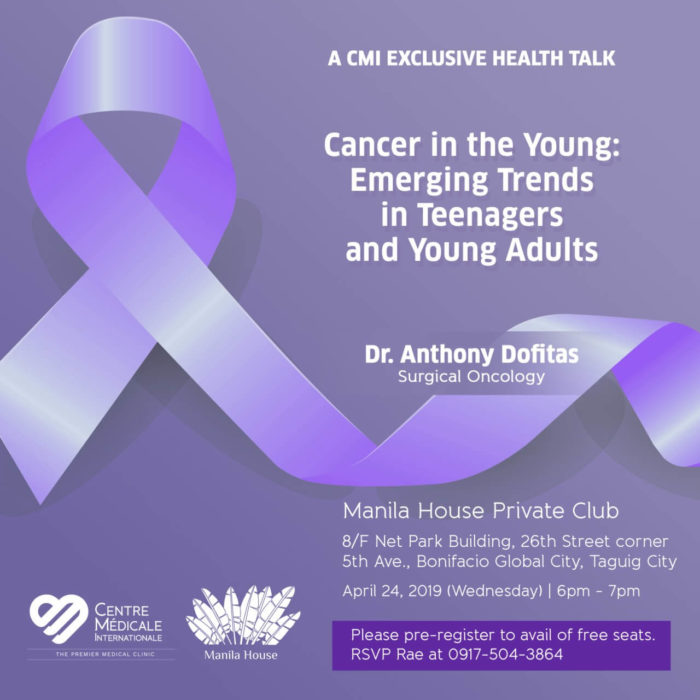 CANCER IN THE YOUNG: Emerging trends in teenagers and young adults