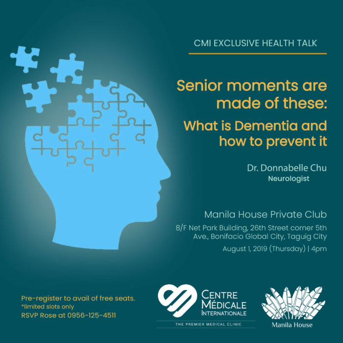 SENIOR MOMENTS ARE MADE OF THESE: What is Dementia and how to prevent it