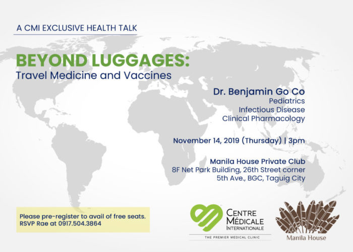 BEYOND LUGGAGES: Travel Medicine and Vaccines